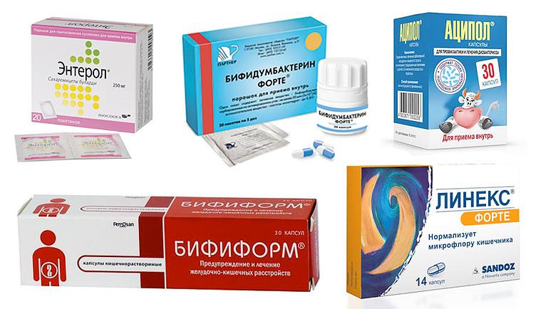 Пробиотические средства
